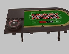 Table of Roulette 3D