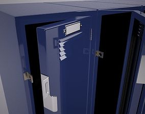 School Style Locker 3D