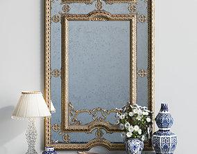Classic mirror Provasi 1107 3D