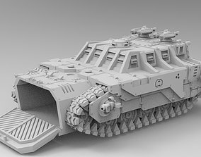 WoWBuildings Big Daddy Troop Carrier 3D print model