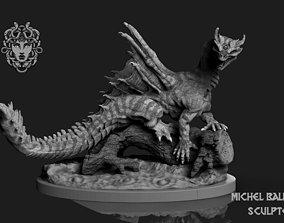 animal Forest Dragon 3D print model