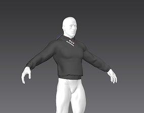 3D model Clothes for Marvelous Designer Pullover01 for Man