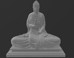 3D print model Sitting Buddha 1 Mudra 2