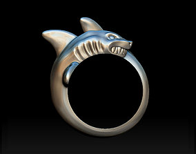 3D print model Shark ring underwater