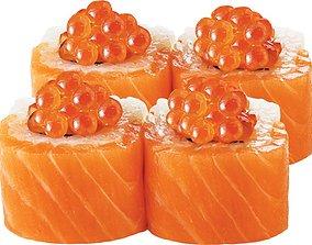 3D printable model Sushi rolls