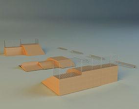 Skate square 3D model