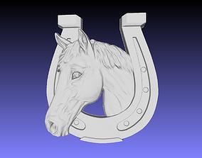 3D printable model Horseshoe wall decor