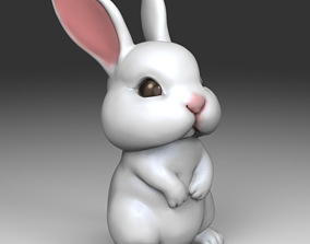3D print model Cute Rabbit STL for
