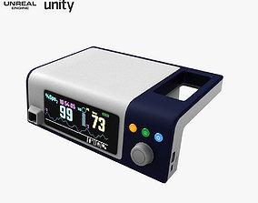 Pulse Oximeter Covidien Nellcor Bedside Medical 3D asset