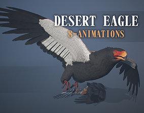 3D asset Desert eagle - Game ready props