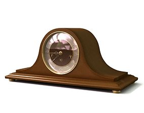 3D model Tambour Style Table Clock