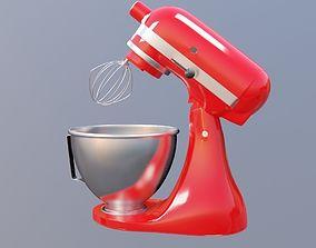 3D model Stand mixer KitchenAid Artisan