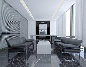 3D Modern Luxury Office - Manager Room Scene design