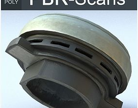 Clutch Bearing Luk Low Poly 3D asset