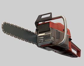 3D asset VR / AR ready Chainsaw