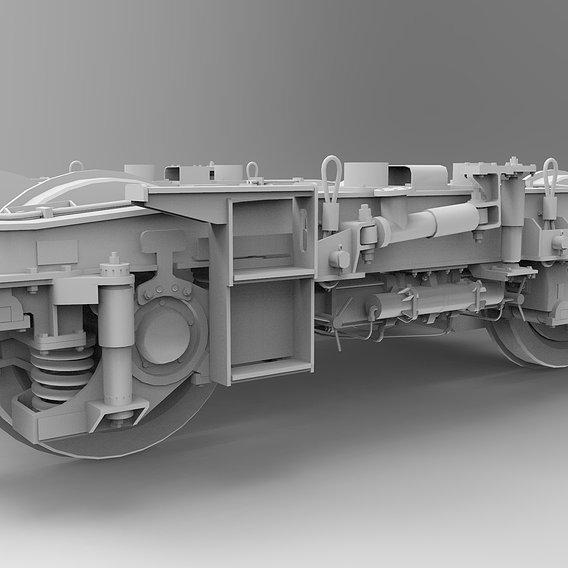 Locomotive Bogie