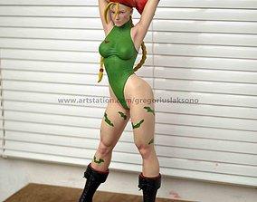 Cammy Street Fighter Fan Art Statue 3d Printable