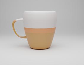 3D asset Artisan Coffee Mug - PBR