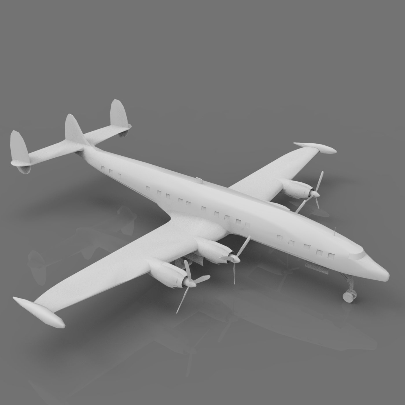 Lockheed Constellation Airplane