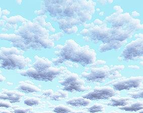 Clouds Set 2 3D
