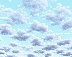 Clouds Set 2 3D