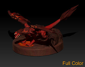 Fire Dragon 3D printable model