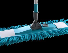 3D model low-poly Mop for cleaning floors
