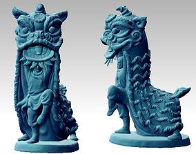 Lion Dance 3D printable model
