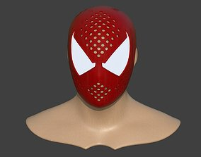 3D print model Spiderman Scarlet Faceshell ps4