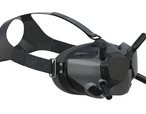 3D model DJI Digital HD FPV Goggles