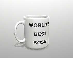 3D model Worlds Greatest Boss Mug