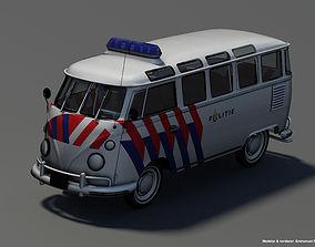 Volkswagen T1 Police 3D model