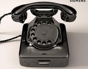 Retro Phone Siemens W48 3D model
