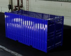 20ft 20FT ISO Shipping Container 3D