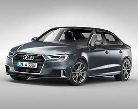 Audi A3 Sedan 2017 3D