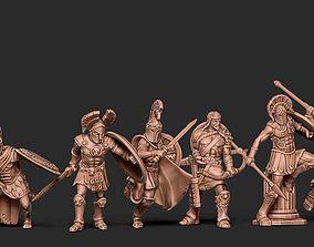 Greek bundle - 6 miniatures 35mm scale 3D print model
