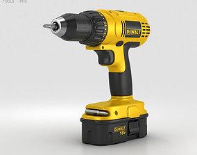 3D Dewalt Compact Drill