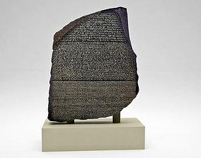 Egyptian Rosetta Stone 3D model
