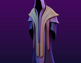 3D asset Two Magic Robes with Hood