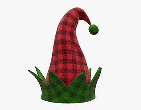 3D model Elf hat Christmas