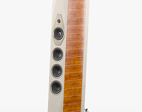 3D model Sonus faber Lilium White Walnut