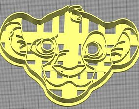 3D print model Nala from The Lion King Cookie Cutter