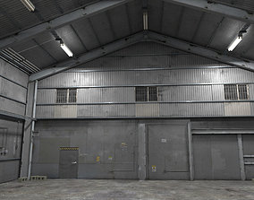 Industrial Warehouse 3D