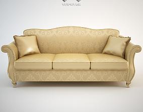 3D model Classic Sofa Chantal 3-seat