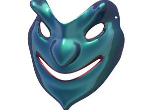 3D print model Carnival Mask1