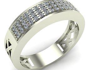 3D print model silver jewel WOMAN RING