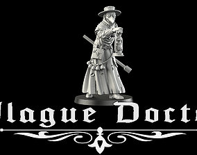 Plague Doctor 3D print model gate