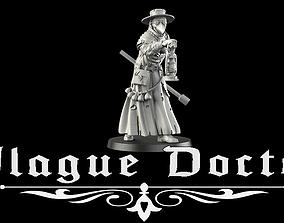 Plague Doctor 3D print model gate