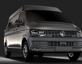Volkswagen Transporter Van L2H2 T6 2017 3D