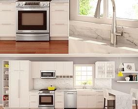 3D Family Kitchen Set 04